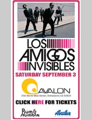 Los Amigos Invisibles At The Avalon - rock en espa�ol - rockeros.net