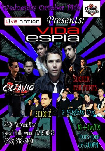 Noches Rockeras En El House Of Blues - rock en espa�ol - rockeros.net