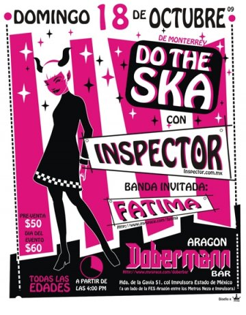 Do The Ska Con Inspector En El Dobermann - rock en espa�ol - rockeros.net
