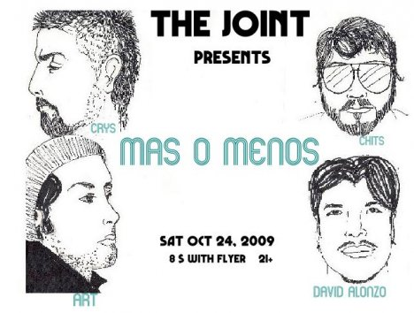 The Joint Presenta Mas O Menos - rock en español - rockeros.net