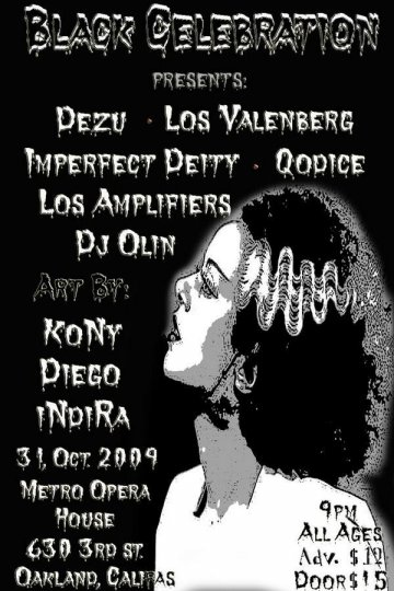 Black Celebration Halloween Party - rock en espa�ol - rockeros.net