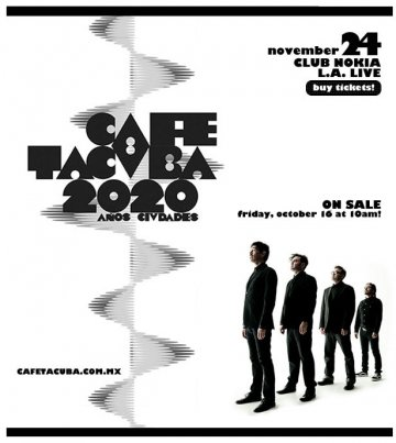 Cafe Tacvba En El Club Nokia - rock en espa�ol - rockeros.net