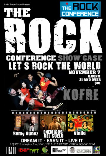 Latin Trade Show Presents The Rock Conference - rock en espa�ol - rockeros.net