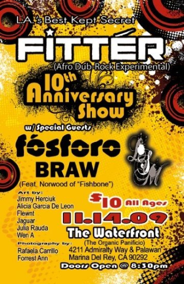 Fitter 10th Anniversary Show - rock en espa�ol - rockeros.net