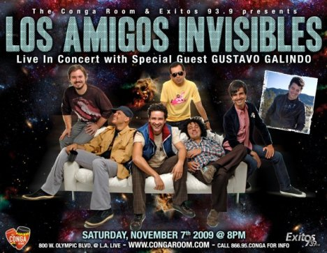 Los Amigos Invisibles At The Conga Room - rock en espa�ol - rockeros.net