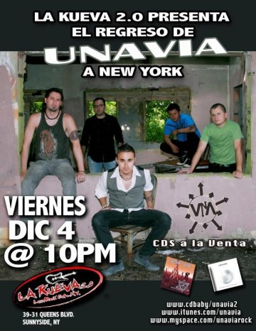 Una Via - rock en espa�ol - rockeros.net