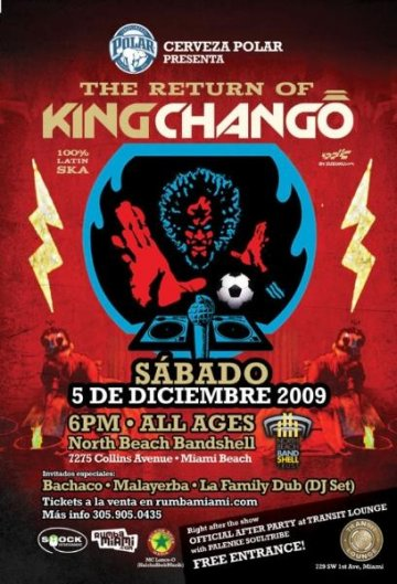 El Retorno De King Chango - rock en espa�ol - rockeros.net