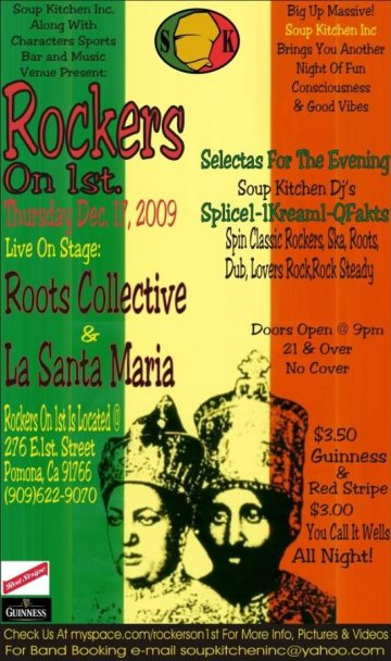 La Santa Maria Y Roots Collective - rock en espa�ol - rockeros.net