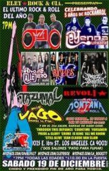 Ultimo Rockn Roll Del 2009 - rock en espa�ol - rockeros.net