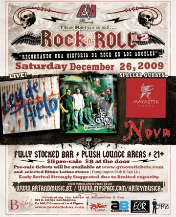 A And M Entertainment Presenta The Return Of Rock N Roll Pt 2 - rock en espa�ol - rockeros.net