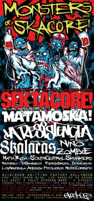 Sektacore At The Knitting Factory - rock en espa�ol - rockeros.net