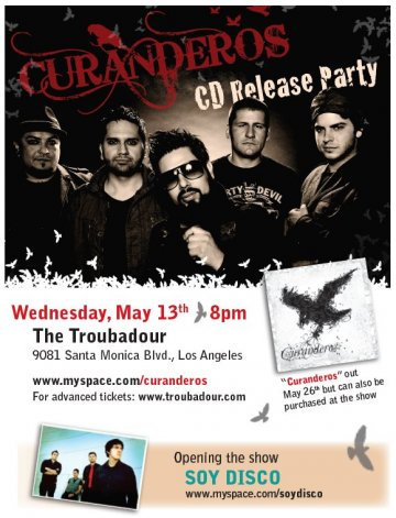 Curanderos Cd Release Party - rock en espa�ol - rockeros.net