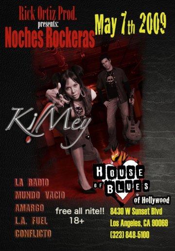 Noches Rockeras At The House Of Blues - rock en espa�ol - rockeros.net