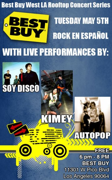 Best Buy West La Rooftop Concert Series - rock en espa�ol - rockeros.net