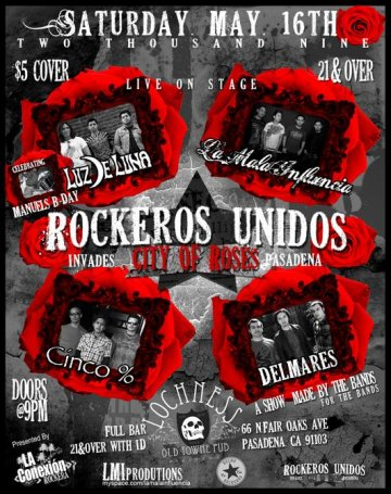 Rockeros Unidos Invade The City Of Roses - rock en espa�ol - rockeros.net