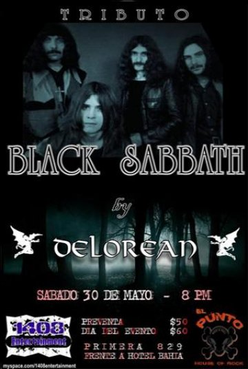 Tributo A Black Sabath - rock en espa�ol - rockeros.net