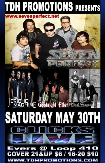 Thd Promotions Presents Seven Perfect - rock en espa�ol - rockeros.net