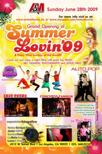 Summer Lovin 09 - rock en espa�ol - rockeros.net