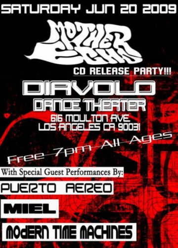Mother Echo Cd Release Party - rock en espa�ol - rockeros.net