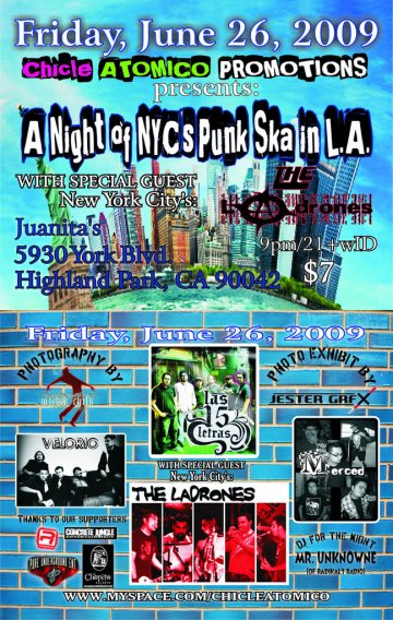 A Night Of Nycs Punk Ska In La - rock en espa�ol - rockeros.net