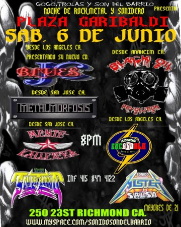 Jc Blues En Plaza Garibaldi - rock en espa�ol - rockeros.net