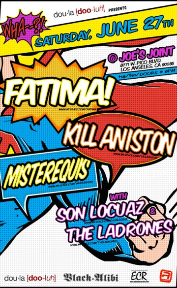 Fatima And Kill Aniston At Joes Joint - rock en espa�ol - rockeros.net