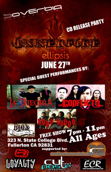 Innerfire Cd Release Party - rock en espa�ol - rockeros.net