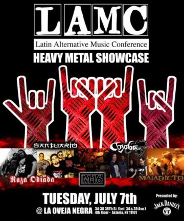 Lamc Heavy Metal Showcase - rock en espa�ol - rockeros.net