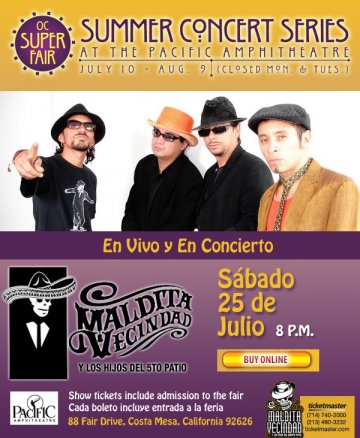 Oc Supper Fair Presenta Maldita Vecindad - rock en espa�ol - rockeros.net
