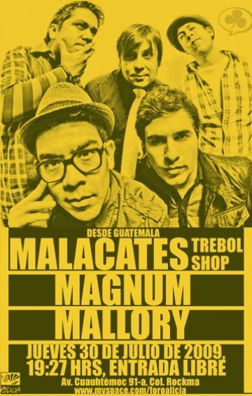 Diva Records Presents Malacates Trebol Shop - rock en español - rockeros.net