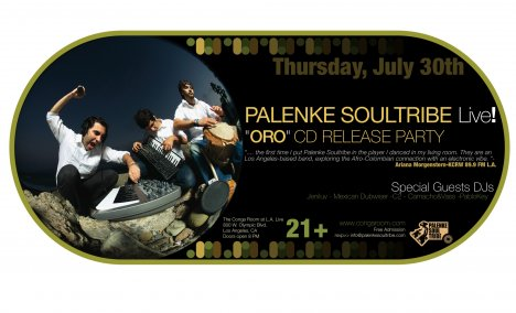 Palenke Soul Trive Oro Cd Release Party - rock en español - rockeros.net