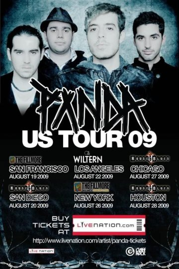 Panda US tour at The Fillmore San Francisco - rock en espa�ol - rockeros.net