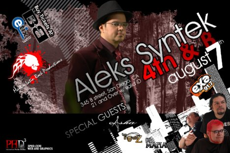 Alex Syntek En Brick By Brick San Diego - rock en espa�ol - rockeros.net