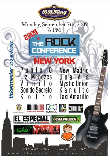 The Rock Conference 2009 New York - rock en espa�ol - rockeros.net