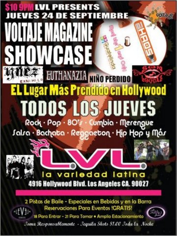 Voltaje Magazine Showcase - rock en espa�ol - rockeros.net