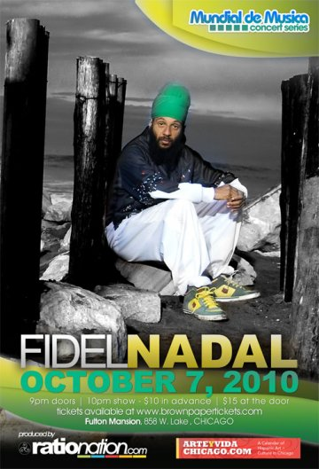Fidel Nadal En Fulton Mansion Chicago Illinois - rock en espa�ol - rockeros.net