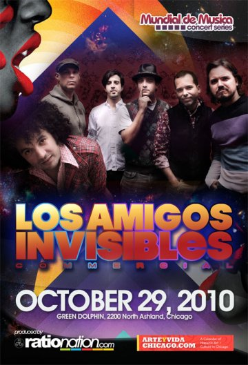 Los Amigos Invisibles En El Green Dolphin Chicago Illinois - rock en espa�ol - rockeros.net