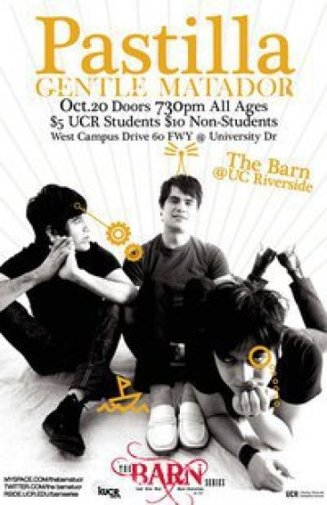Pastilla Y Gentle Matador En The Barn Uc Riverside California - rock en espa�ol - rockeros.net