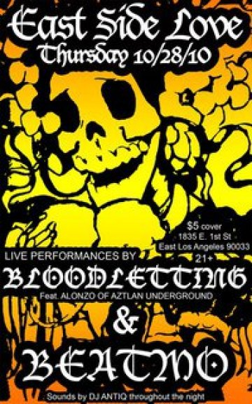 Bloodletting And Beatmo En El Eastside Luv Wine Bar Y Queso Boyle Heights La - rock en espa�ol - rockeros.net