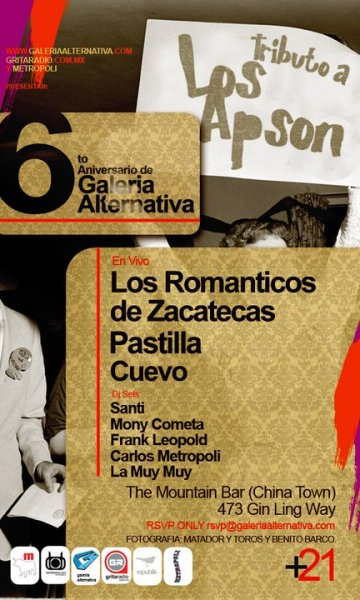 Galeria Alternativa 6to Aniversario Con Los Romanticos De Zacatecas Los Angeles - rock en espa�ol - rockeros.net