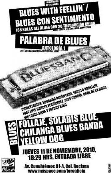 Blues With Feeling En El Foro Alicia Con Follaje Solaris Blue Mexico Df - rock en espa�ol - rockeros.net