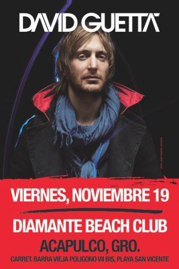 David Guetta En El Diamante Beach Club Acapulgo Guerrero Mx - rock en espa�ol - rockeros.net