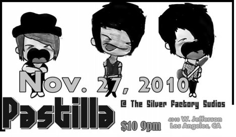Pastilla En The Silver Factory Lounge Los Angeles California - rock en espa�ol - rockeros.net