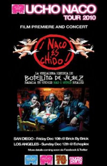 Naco Es Chido Tour Botellita De Jerez En The Echo Plex De Los Angeles California - rock en espa�ol - rockeros.net