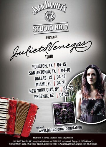 Julieta Venegas En El House Of Blues Dallas 2010 - rock en espa�ol - rockeros.net