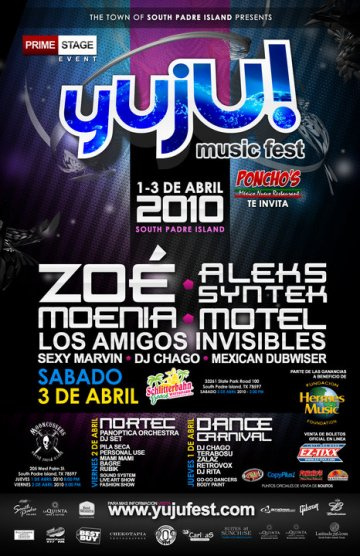 Yujo Music Fest 2010 En Mooncussers South Padre Island 1 De Abril 2010 - rock en espa�ol - rockeros.net