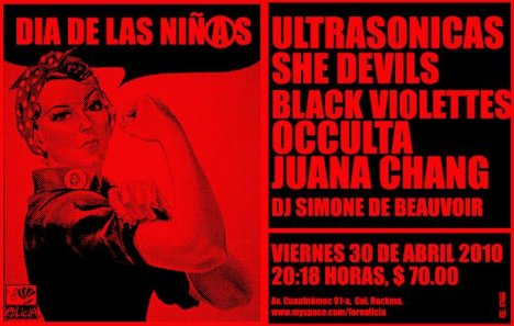 Dia De Las Ni�as En El Foro Alicia Con Las Ultrasonicas - rock en espa�ol - rockeros.net