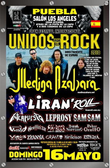 Unidos Por El Rock En El Salon Los Angeles Puebla - rock en espa�ol - rockeros.net