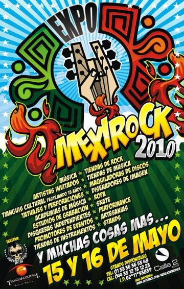 Expo Mexirock 2010 - rock en espa�ol - rockeros.net