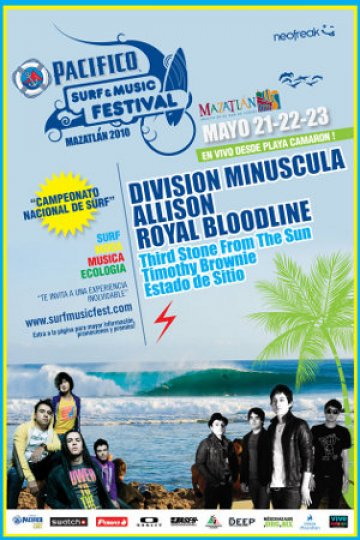 Royal Bloodline En El Surf Music Festival En Mazatlan - rock en espa�ol - rockeros.net